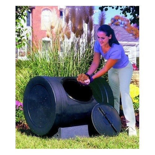ship From Usa Large Compost Tumbler 12 Cu Ft Organic Composter Barrel Garden Kitchen Waste Diy item Noe8fh4f854125784