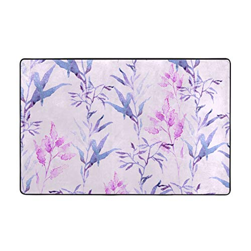 Durable Grass Meadow Province Home Mat Area Rugs Doormats Background 5x33 60x39 Inches Non-Slip Floor Mat Soft Carpet For Living Dining