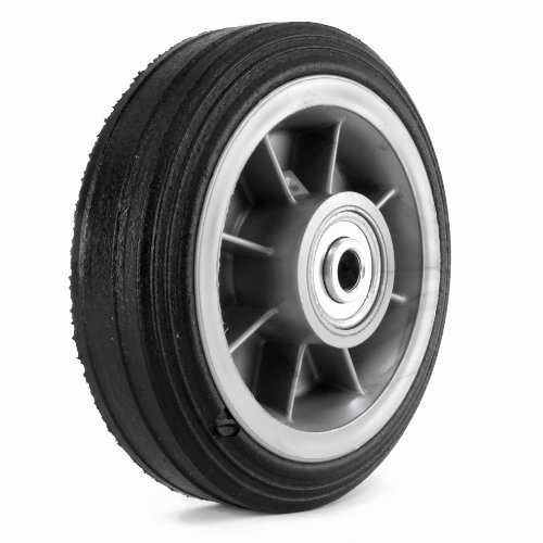 Martin Wheel 6x200 6-inch General Purpose Wheel For Lawn Mower 12-inch Ball Bearing By 2-12-inch Centered