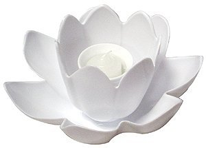 Floating Blossom Swimming Pool Light Single Candle - Assorted Colors